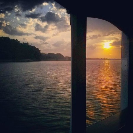 Chester River Packet Company: sunset
