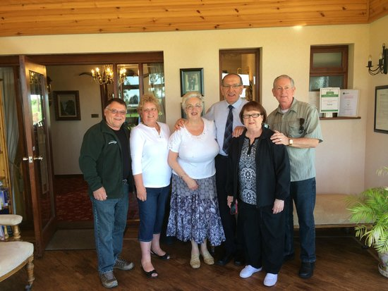 Brown's Country House Bed and Breakfast: saying good bye
