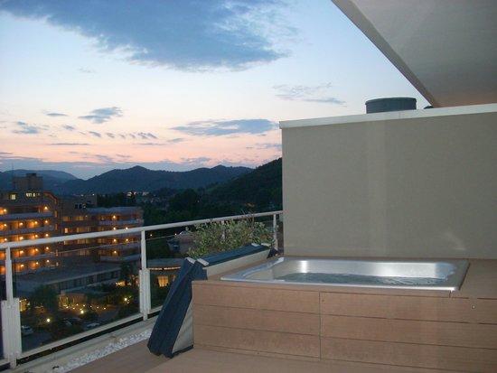 Radisson Blu Resort, Terme di Galzignano: Tramonto