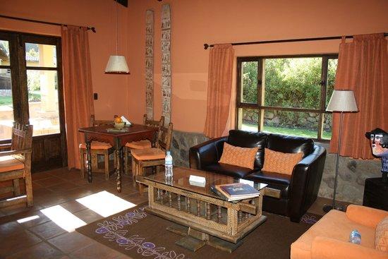 Sol y Luna - Relais & Chateaux: Our living room.
