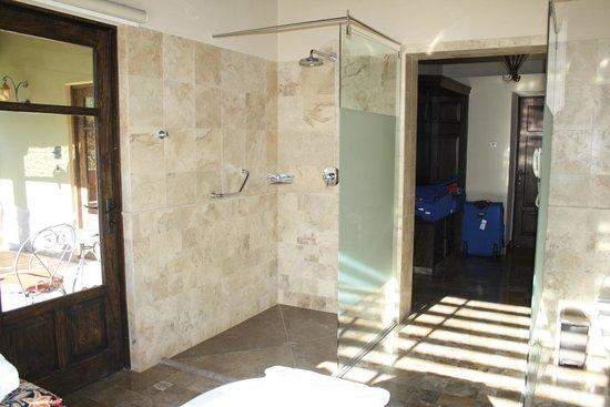 Sol y Luna - Relais & Chateaux: Shower