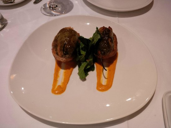 Sol y Luna - Relais & Chateaux: Stuffed peppers.