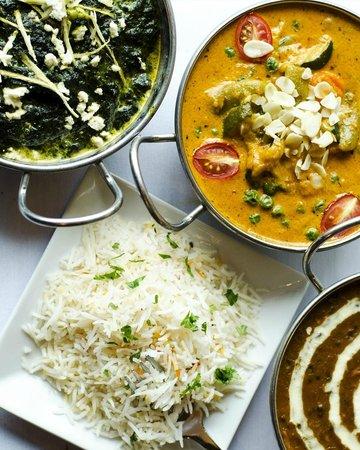 Monsoon Indian Cuisine: Paneer sagwala