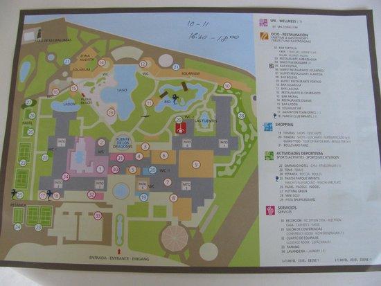 Lopesan Costa Meloneras Resort, Spa & Casino: Говорят что у отеля самая большая территория в Европе, попробуй не заблудиться без карты