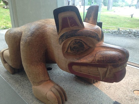 Museo de Antropología: First Nations Carving