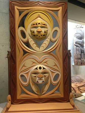 Museum of Anthropology: Intricate carvings