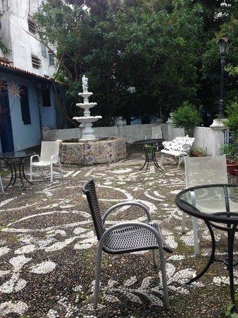 Pousada Barroco na Bahia: Courtyard