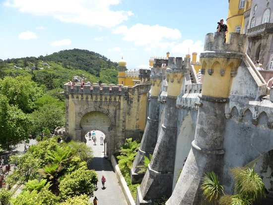 Park and National Palace of Pena: A True Top Of The Mountain Palace