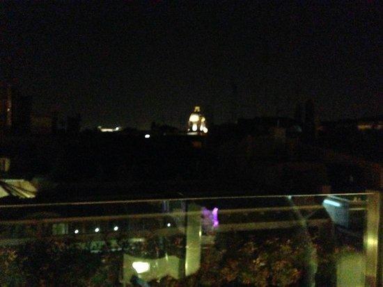 Hotel Valadier : vista noturna do terraço do restaurante