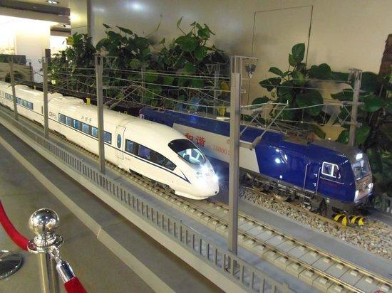 China Railway Museum Zhengyangmen: Train models