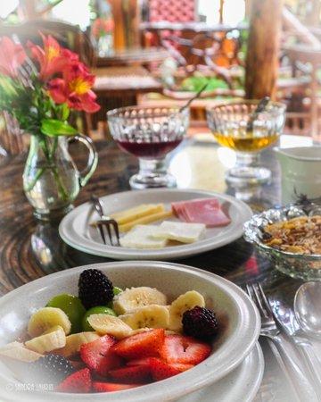 Hosteria Finca Chamanapamba: Breakfast