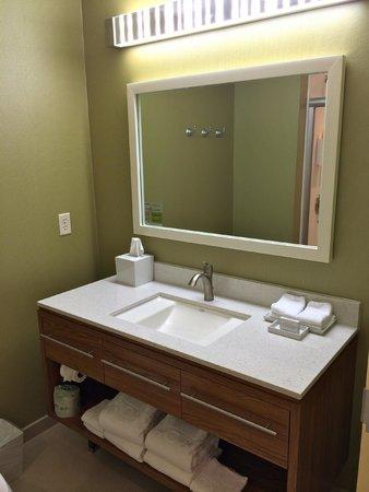 Home2 Suites By Hilton San Antonio Airport Bathroom Vanity Area
