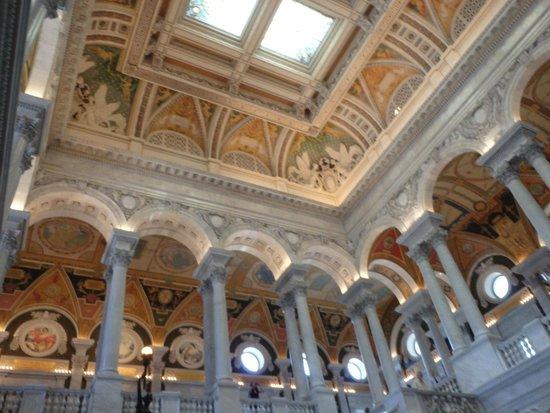 Bibliothèque du Congrès : main lobby