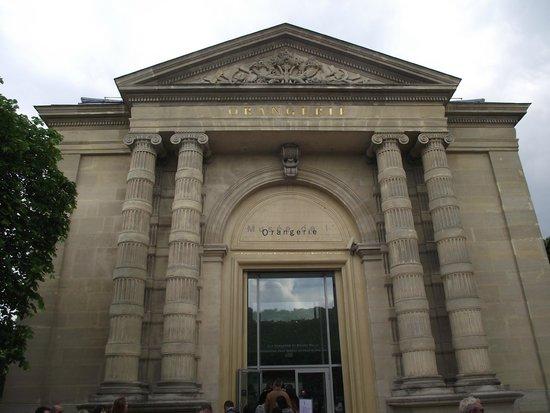 Museo de la Orangerie: Fachada do Museu de l'Orangerie.