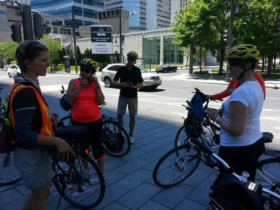 Montreal On Wheels / Ça Roule Montreal: Anne preps us for the ride