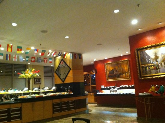 Bristol  International Airport Hotel: Restaurante