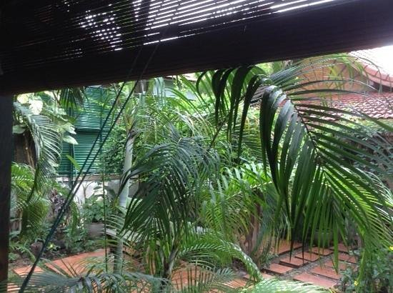 Auberge Sala Inpeng (Mekong Riverside Inn): vue véranda
