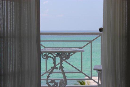 SeaGarden Beach Resort : balcony in room