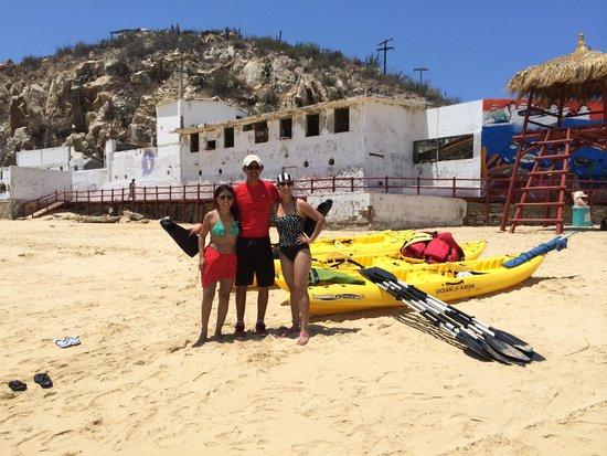 Baja Outback - Day Tours: Con Marcos después de terminado el tour!