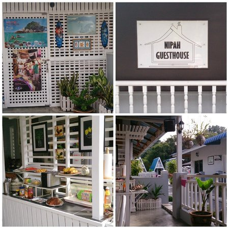 Nipah Guesthouse: Nice and Clean dining area