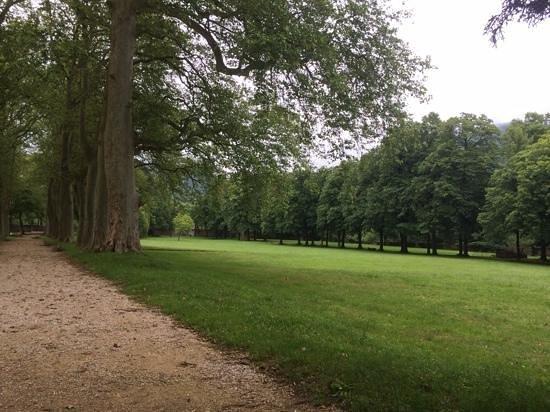 Hotel Abbaye Ecole de Soreze : le parc