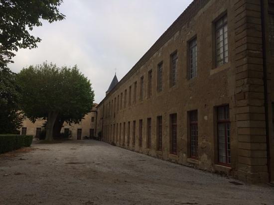 Hotel Abbaye Ecole de Soreze : la batisse