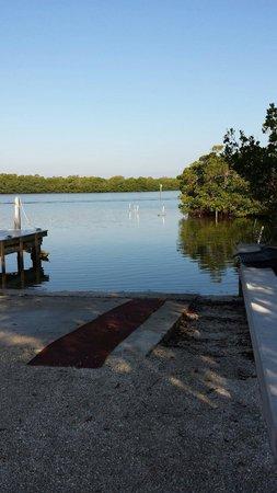 Hyatt Regency Coconut Point Resort and Spa: At the dock