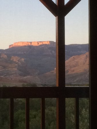 The Hideout Lodge & Guest Ranch: View from casitas