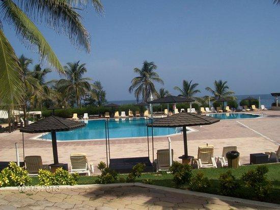 King Fahd Palace: pool area