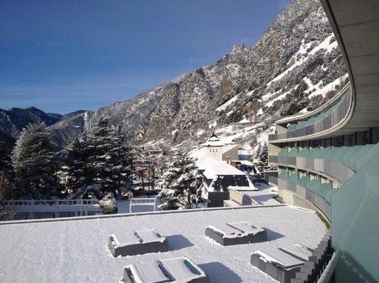 Andorra Park Hotel : Вид с балкона