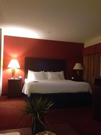 Residence Inn Abilene: large nice bed