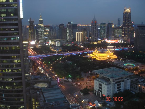 Le Royal Meridien Shanghai: View of front hotel