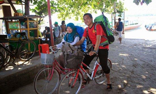 Gili Trawangan: sepedaan