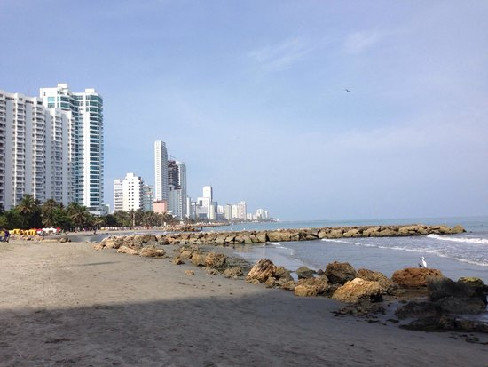 Hilton Cartagena: Not by the prime beaches or historic city