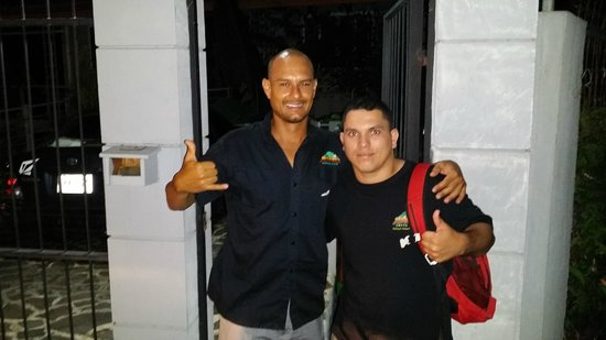 MidWorld Costa Rica: Jose (Left) and David (right). If you see them give them a pat on the back.