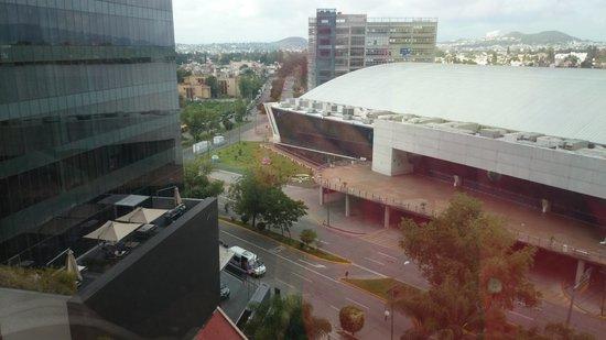 Hilton Guadalajara: Vista desde las habitaciones con número impa