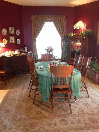 Gardiner Guest House B&B : livingroom