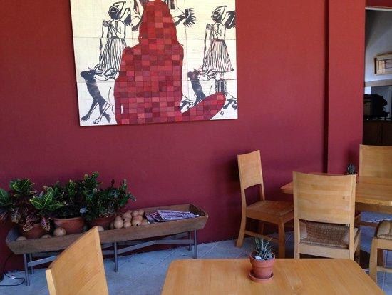 Hotel La Casona De Tita: Obras de arte en todos lados