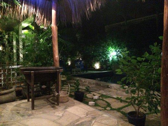 La Posada Azul: Courtyard