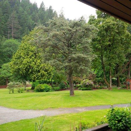 Harrison Hot Springs Resort & Spa: Beautifully kept gardens
