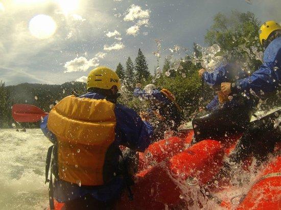 Lochsa River Rafting - ROW: Lochsa madness!