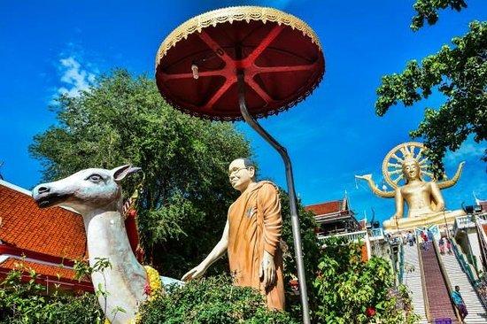 Big Buddha Temple (Wat Phra Yai): Anlage des Big Buddha Koh Samui