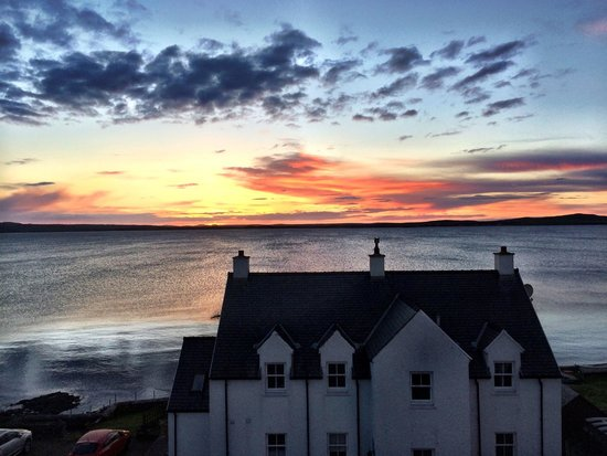 The Bowmore House: View from our room