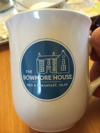 The Bowmore House: Logo tea and coffee cup (for sale of course)