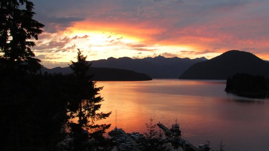 West Coast Wilderness Lodge : sunset