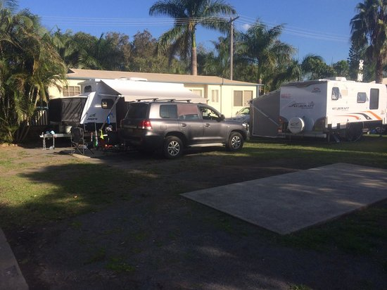 BIG4 Great Lakes at Forster Tuncurry : Caravan Site