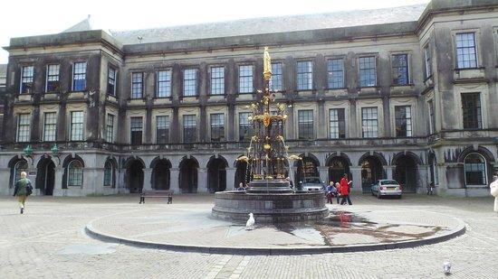 Binnenhof & Ridderzaal (Inner Court & Hall of the Knights): Фонтан