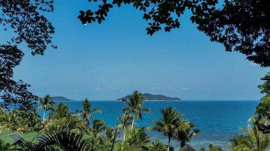 Rawa Island Resort: View from the hill treking