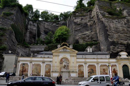 Salzburger Altstadt: casco antiguo