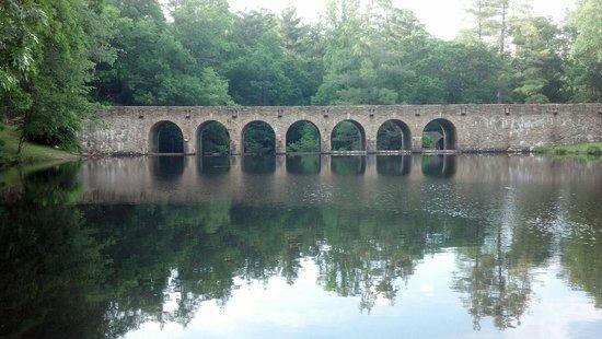 Cumberland Mountain State Park: Bridge